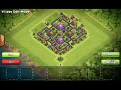 Clash of Clans Strategy: Farming Bases Layout Town Hall, Clash Of Clans, Layout Design, World, Youtube, The World, Youtubers, Youtube Movies
