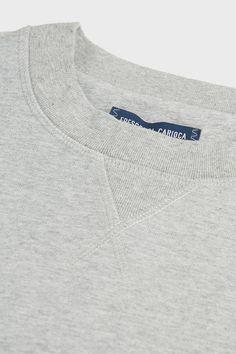 Frescobol Carioca Activewear Cotton-blend Jumper In Grey Nick Miller, New Girl, Activewear, Jumper, Sporty, Jar, Mens Fashion, Grey, Cotton