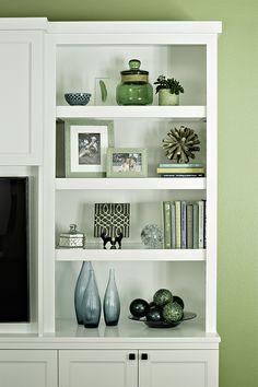 Bookcase accessorizing - Marker Girl