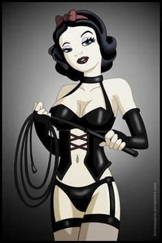 Snow White Dominatrix  would be a cool tattoo