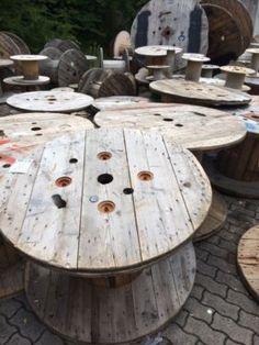 Es gibt die Trommeln in verschiedenen Größen. Von 50cm - 150cm Durchmesser. Bei Interesse bitte...,Kabeltrommeln zu verschenken in Kaiserslautern - Kaiserslautern