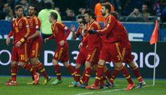 Spanyol team in Piala Dunia