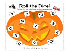 roll the dice halloween