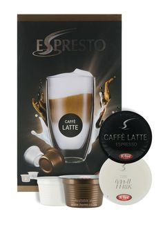 Espresto Caffé Latte www.home.co.za Available in all @home and @homelivingspace stores