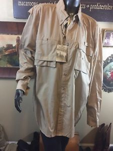 Rugged Earth Outfitters Men's Travel Trekking Shirt With Venting L NWT Fishing  | eBay