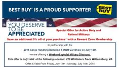 Best Buy Military Discount >> Jcpenney To Offer A Military Discount For Memorial Weekend