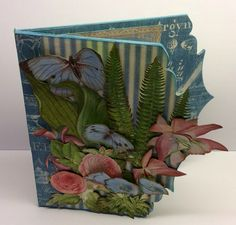 Graphic 45 Botanical Tea - Chipboard Card