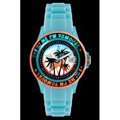 Ice-Watch F*** Me I'm Famous Turquoise palm Unisex Watch