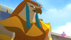 Egyxos-Horus 1 by GiuseppeDiRosso on DeviantArt Egyptian Mythology, Episode 5, Gods And Goddesses, Ancient Egypt, Mammals, Beast, Aurora Sleeping Beauty, Character Design, Fan Art
