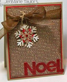 DEC11VSNC NoeL by JenMarie - Cards and Paper Crafts at Splitcoaststampers