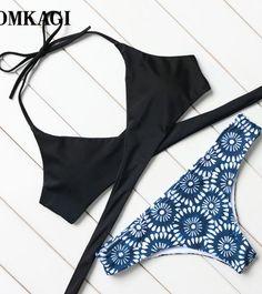 43eec272a88074 Bikinis 2017 New Sexy Swimwear Women Swimsuit Hot Summer Bandage Bikini  Bathing Suit Push Up Brazilian Biquinis Swim Wear