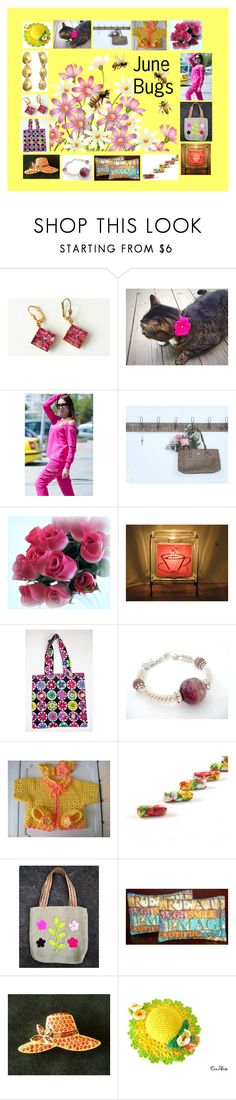 """""""June Bugs: Birthday Gift Ideas"""" by paulinemcewen ❤ liked on Polyvore featuring Coffee Shop, rustic, vintage and country"""