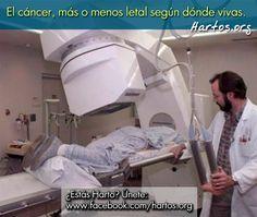 El #cáncer, más o menos letal según dónde vivas - MAPAS de CÁNCER en España y el MUNDO