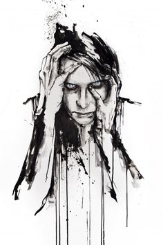 by artist Agnes-Cecile aka Silvia Pelissero from Italy