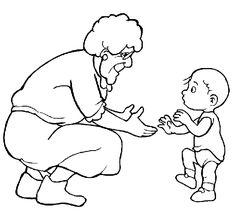 Image result for grandma and grandpa draw