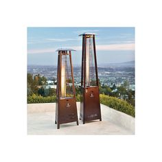 Empire Patio Heater   Bronze ($1,599) ❤ Liked On Polyvore Featuring Home,  Outdoors