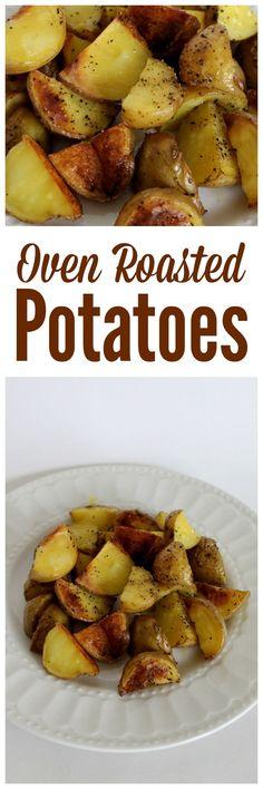 Oven Roasted Potatoes   Roasted Potato Recipes   Crispy Oven Roasted Potatoes