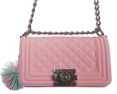 American Jewel Danielle Boy Bag - Bubble Gum Pink with Mi... https://www.amazon.com/dp/B06XPRLD4V/ref=cm_sw_r_pi_dp_x_7RFnzbKPDZM24