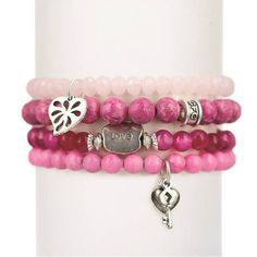 Pink Love Set of Four