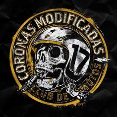 Gravure Metal, Biker Tattoos, Art Tattoos, Skull Artwork, Skull Drawings, Skull Illustration, Album Cover Design, Bobber Motorcycle, Bike Art