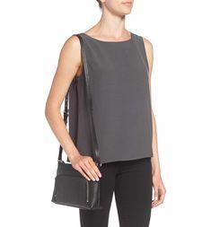 Main Image - Nordstrom Pebbled Leather Crossbody Bag