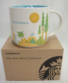 Starbucks-Coffee-Mug-California-You-Are-Here-Collection-2012-NEW-w-Box-14oz