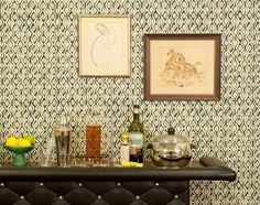 The Printing Press: Block Printed Wallpapers from Galbraith and Paul