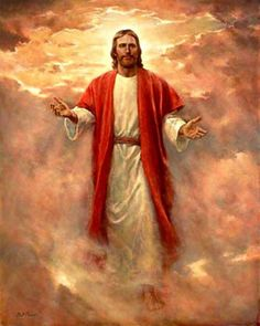 Jesus Christ in Clouds - DIY Diamond Painting Images Du Christ, Pictures Of Jesus Christ, Religious Pictures, Religious Art, Jesus Pics, Jesus Christ Painting, Jesus Art, Lds Art, Bible Art