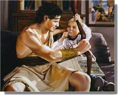 Heroes: Like Nephi of Old -Liz Lemon Swindle Liz Lemon Swindle, Book Of Mormon Stories, Lds Pictures, My Church, Church Ideas, Lds Art, Scripture Study, Bible, Daughter Of God