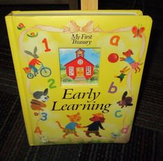 MY FIRST TREASURY, EARLY LEARNING BOARD BOOK BY MICHELLE CONWAY, GREAT READ, GUC