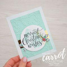Watercolor Christmas - Crafty Carrot Co Blog Hop