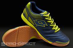 Lotto Football Boots - Lotto Futsal Liga V Indoor - Soccer Cleats - Indian B.-Ac. Green