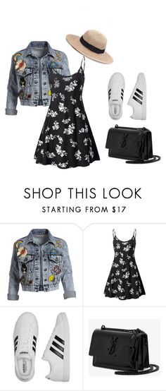 """""""Untitled #22"""" by krnas on Polyvore featuring Alice + Olivia, adidas and Yves Saint Laurent"""