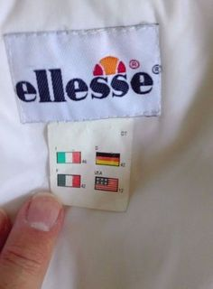 Giubbotto ELLESSE Piumino Invernale Jacket Winter Vintage Olimpic Games (size L)