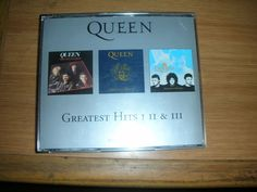 The Platinum Collection - Greatest Hits I, II, & III by Queen (3 CD set) #ProgressiveArtRock