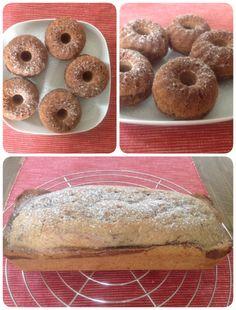Leckerer Marmorkuchen aus Dinkelvollkorn und ohne Zucker - Danke an den Dinkelprofi!  http://www.dinkelprofi.de/süße-vollwertkost/kuchen/marmorkuchen/
