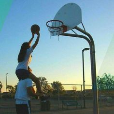 Best relationship is one where you can just mess around and be yourself. A playful relationship Basketball Relationships, Basketball Couples, Basketball Couple Pictures, Basketball Goals, Basketball Boyfriend, Basketball Practice, Cute Relationship Goals, Cute Relationships, Couple Relationship