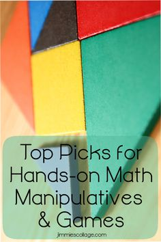 Top Picks for Hands-on Math Manipulatives and Games for Homeschool