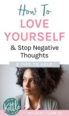 Find happiness, learn how to love yourself and get rid of negative thoughts with these 3 tips. Improve Mental Health, Good Mental Health, Negative Self Talk, Negative Thoughts, Natural Medicine For Anxiety, Self Confidence Tips, Self Love Affirmations, How To Relieve Stress, Reduce Stress