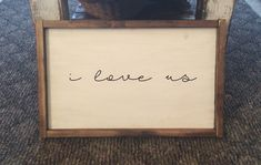 I love us simple farmhouse sign $40 on sale with free shipping #rustic #farmhouse #signs #loveit