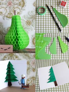 #DIY decorate with Honeycomb Paper pads