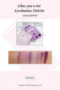 Tolle Palette mit Farben wie Lila, Rosa, Violett und Berry. Review dazu findet ihr auf meinem Blog. Colour Pop, Big Little, Berry, Lilac, Swatch, Eyeshadow, Blog, Pink, Amazing