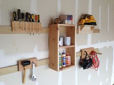 The French cleat is a tried-and-true method of hanging a cabinet securely on a wall. Now, here's how you can use this technique to build a highly customizable storage system for your garage. Not only is it simple to build, but once up on the wall, this system is flexible enough to be quickly rearranged on the fly to accommodate your ever-changing storage needs. The foundation for this system is a series of wood strips, each with a 45-degree angle cut on the top edge. The strips are mounted…