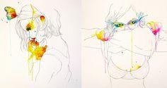 Ilustração por Conrad Roset.
