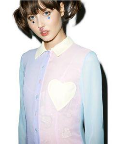 Pastel Maxi Shirt