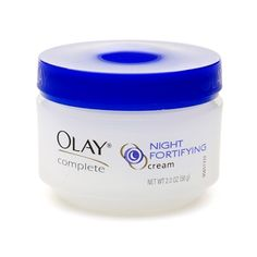Nourishes, Strengthens And Protects Overnight Green Tea Extracts And Aloe Antioxidant Vitamin E Vitamin B3, Pro-Vitamin B5 Non-Greasy, Non-Comedogenic (Won't Clog Pores) Builds Skin's Resilience Overnight For Healthier Looking, Replenished Skin Each Morning at $11.89  http://www.bboescape.com/products/buy/552/health-beauty-products/Olay-Complete-Night-Fortifying-Cream