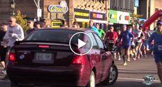 Início De Maratona Fica Marcado Pela Invasão Acidental De Condutora