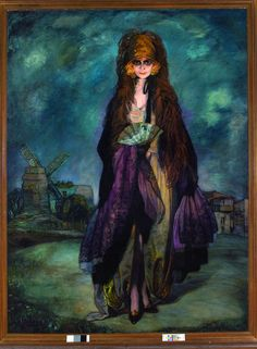 Marchesa Casati, Painting by Zuloaga