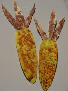 Fall corn craft