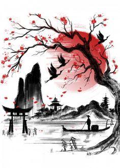 Japanese Tattoos 218002438201351035 - Japan Dream by Daisy Ingrosso Japanese Drawings, Japanese Artwork, Japanese Tattoo Art, Japanese Prints, Japanese Art Modern, Asian Artwork, Traditional Japanese Art, Japanese Quotes, Modern Asian